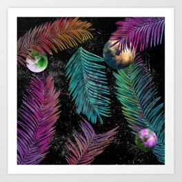 Island Galaxy Art Print