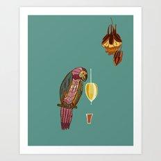 nectar thick Art Print
