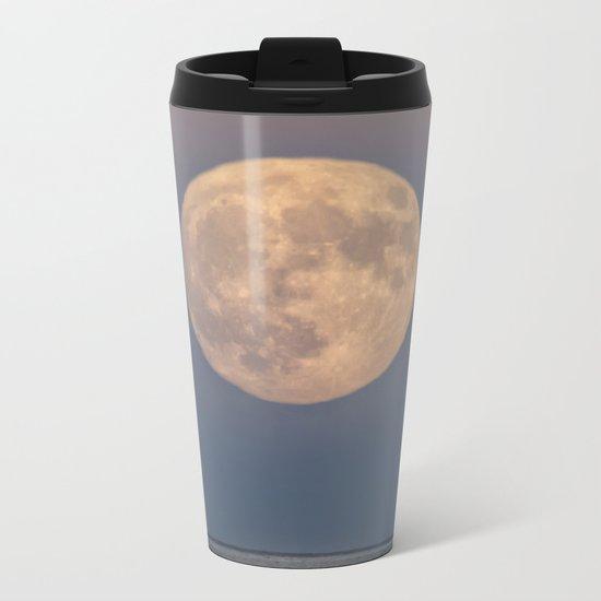 Spring Moonrise Metal Travel Mug