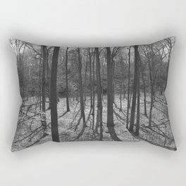 Re-Growth: B&W Rectangular Pillow