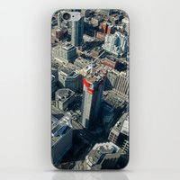buildings iPhone & iPod Skins featuring Buildings by Nick De Clercq