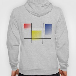 Squares graphic design Hoody
