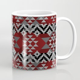 Red Aztec Coffee Mug