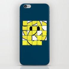 Acid Smiley Shuffle Puzzle iPhone & iPod Skin