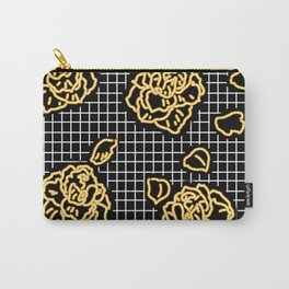 Yellow Rose Neon Carry-All Pouch