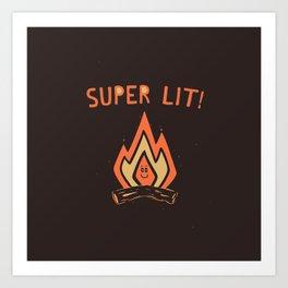 SUPER L/T! Art Print