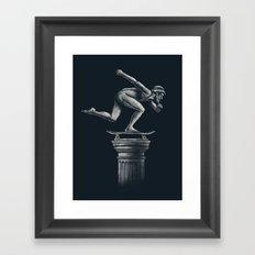 The Skater Framed Art Print