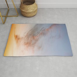 Ethereal Sunset – Cloudscape Rug