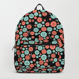 Sew Many Buttons Backpack