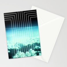 Straight to Blue Stationery Cards
