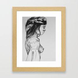 Nymphora Framed Art Print