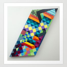 Abstract Untitled #1 Art Print