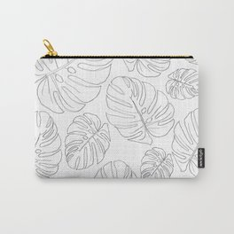 monsteria leaves Carry-All Pouch