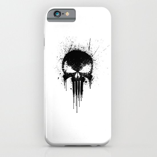 Black Skull iPhone & iPod Case