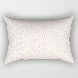 Blush Lines Rectangular Pillow