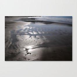 Sandy beach Canvas Print