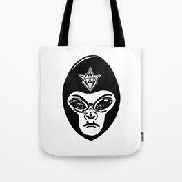 Alien/gorilla (goralien) XENO Tote Bag