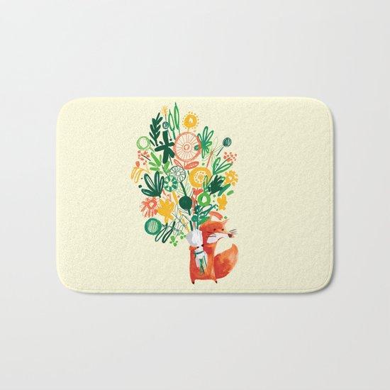 Flower Delivery Bath Mat