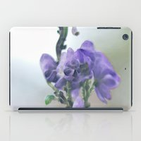 iris iPad Cases featuring Iris by Bella Blue Photography
