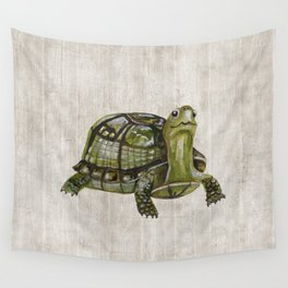 Little Turtle, Forest Animals, Woodland Decor, Woodland Art, Wall Tapestry