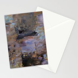 Night and Gold Stationery Cards