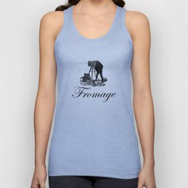 Say Fromage Unisex Tank Top
