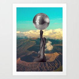 getting hot Art Print