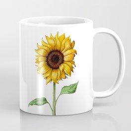 Yellow Sunflower Painting Coffee Mug