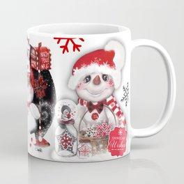Snowflake Wishes Snowman Coffee Mug