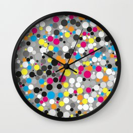 Multi Color Fusion Wall Clock