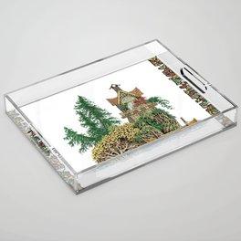 MY ISLAND RETREAT Acrylic Tray