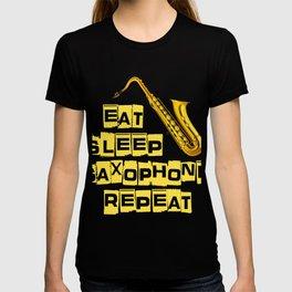 Gift For Saxophone Lover. Shirt For Kids T-shirt