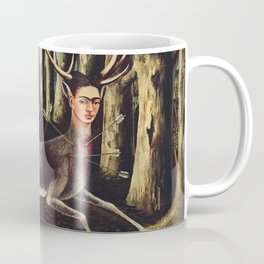 Frida Kahlo Deer Coffee Mug