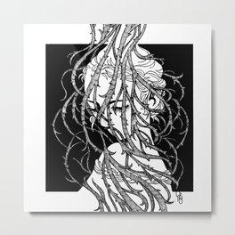 Brambles 15 Metal Print