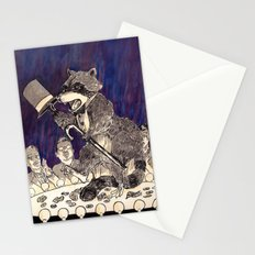 Dapper Raccoon Stationery Cards