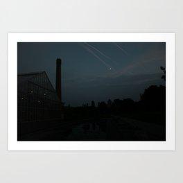Shooting stars? Art Print