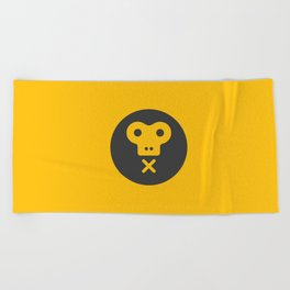The Monkeys Order Beach Towel