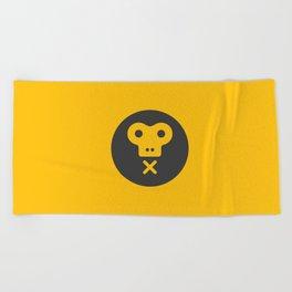 The Monkeys Order Beach Towel