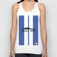 mustang Tank Tops featuring Mustang by Salmanorguk