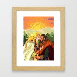 finrod & beor Framed Art Print