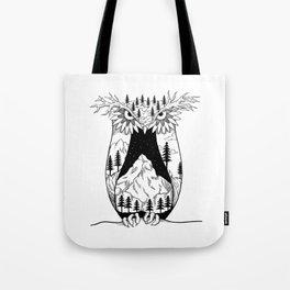 Mothernature Owl Tote Bag
