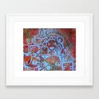 bali Framed Art Prints featuring bali  by missy pierce