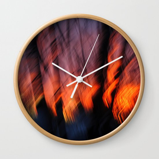 Light Up Your Skies Wall Clock
