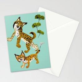 Totem iberian lynx Stationery Cards