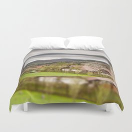 Babia Gora massif view Duvet Cover