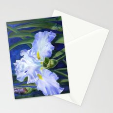 Blue Ruffles Stationery Cards