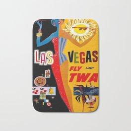 Lady Las Vegas Bath Mat