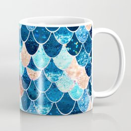REALLY MERMAID BLUE & GOLD Coffee Mug