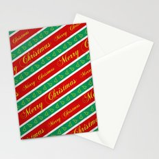 Christmas Wrapping Paper Stationery Cards