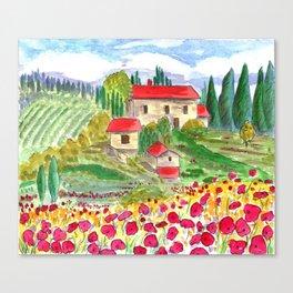 Tuscan Canvas Print
